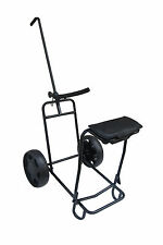 Founders Club 2 Wheel Tilt Pull Cart with Seat