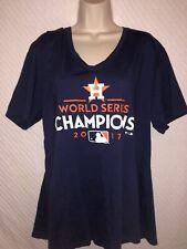 Woman's Houston Astros Fanatics Branded 2017 World Series Champions Shirt