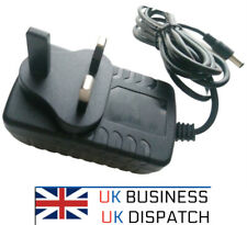 More details for to fit pure one classic dab radio power supply adapter 12v plug 2a ac/dc charger