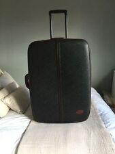 Leather Expandable Unisex Adult Suitcases