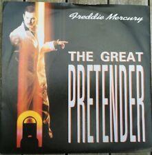 """Freddie Mercury, The Great Pretender 7"""" vinyl in picture sleeve, 1987"""