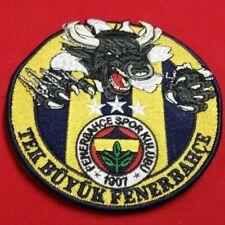 Patch Galatasaray Cim Bom Türkiye Istanbul Sari Kirmizi 1905 Aufnäher Klett