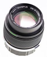 Olympus OM 100 mm f 2,8 Zuiko Auto - T /  TOP Prime Lens SN: 204004   ( 701 )