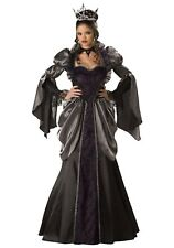 WOMENS WICKED QUEEN COSTUME SIZE XL (missing crown)