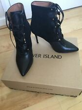 River Island Stiletto Suede Boots for Women