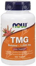 Now Foods TMG 1000mg x 100 - MOINS CHER ALTERNATIVE DE SAM-E