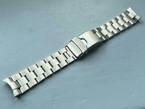 22MM SEIKO SOLID Oyester Stainless Steel Mens Watch STRAP BAND Bracelet New.