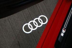 🔥Set Of 4 OEM Audi LED door Beam Puddle Lights. Door Ring Lights 4G0052133G🔥