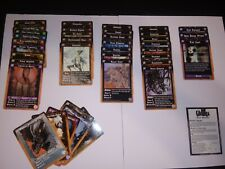 Rage CCG The Umbra Complete Set with 1 Foil