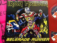 IRON MAIDEN - BELGRADE RUNNER - RARE LIMITED 2LP SET IMPORT