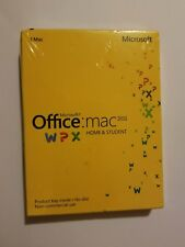 Microsoft Office MAC 2011 Home & Student 1/Mac. BRAND NEW. FREE SHIPPING