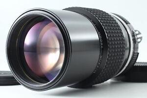 [Exc+4] Nikon nikkor Ai 200 f/4 MF Manual Foucus Lens From JAPAN