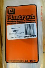 "PLASTRUCT STRUCTURAL SHAPES #90361 - .020""  ABS STRIP STOCK 5 Pcs. - STSC-1"