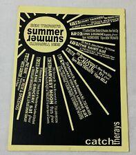 1999 promo tour postcard ~ Ben Trovato ~ Rem, Spacehog