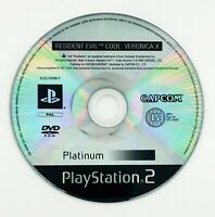 Resident Evil code Veronica X - Playstation 2 / PS2 - Disque seul - PAL FR