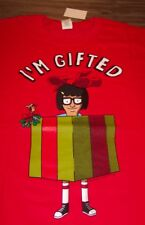 BOB'S BURGERS I'M GIFTED CHRISTMAS T-Shirt SMALL NEW w/ TAG