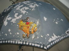*** NEW + MOSCHINO + SHOULDER CARRY FLY BY UMBRELLA + RRP £159 + AUTOMATIC