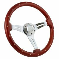 "1960 -1969 GMC Pick Up Truck, Suburban Wood 15"" Steering Wheel, Horn + Boss Kit"