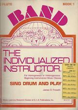Band The Individualized Instructor, Sing Drum and Play / C Flute Book 1 ~G848