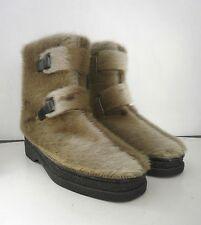 Fell Stiefel Damen Boots Stiefelette TRUE VINTAGE fur NOS Winterstiefel snow