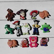 39 Toy Story PVC Shoe Charms Accessories As Kids Children Cute Gift Hot Cartoon