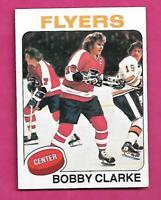1975-76 TOPPS # 250 FLYERS BOBBY CLARKE NRMT CARD   (INV# C3956)
