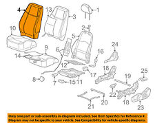 Chevrolet GM OEM 05-08 Cobalt Front Seat-Cushion Cover-Top Back 25885077