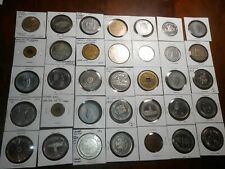 Lot Of Over 130 Tokens Trade Dollars And Other Medals/Tokens