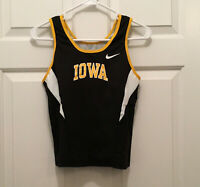 NWT University of Iowa Hawkeyes Women's Team Issued Nike Fitted Tank Top Large