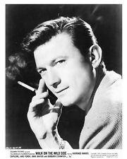LAURENCE HARVEY portrait still with cigarette WALK ON THE WILD SIDE - (n001)