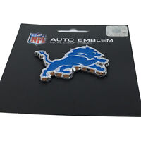 New NFL Detroit Lions Auto Car Truck Heavy Duty Metal Color Emblem