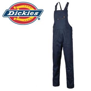 2XL XXLarge Dickies Workwear Redhawk Bib & Brace WD600 Navy Blue Multi Pockets