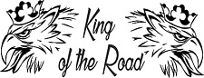 Scania King of the Road HGV Sticker Large Size 30cm Long G-Series N-Series