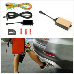 1Pcs Car Powered Tailgate Accessories Foot Sensor Controlled Opening And Closing