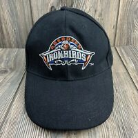 ABERDEEN IRONBIRDS BLACK ADJUSTABLE BASEBALL CAP HAT Minor League
