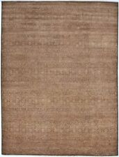 """Hand-knotted Indian Contemporary rug. 9'2""""x 12'"""