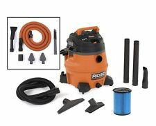 RIDGID Wet Dry Vacuum Cleaner 14 gallon 6 Peak HP w/ Auto Detail Kit, Portable