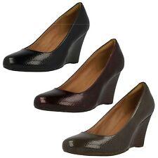 Clarks Court Textured Heels for Women