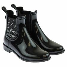 Rubber Upper Shoes Slip - on Boots for Girls