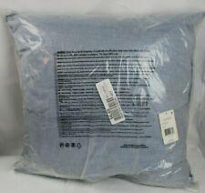 "Ralph Lauren Graydon Melange 20"" Square Decorative Throw Pillow  Chambray $100"