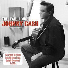 Johnny Cash FABULOUS / SONGS THAT MADE HIM FAMOUS +Bonus Songs NEW SEALED 2 CD