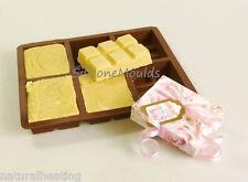 6 Cellulare Tablet/Fudge Barra Di Cioccolato Stampo (100g) Professionale in Silicone Sapone Stampo