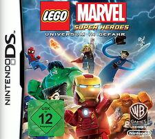 Nintendo DS Lego Marvel Heroes Universum in Gefahr Action Adventure Mehrsprachig