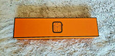 NEW Apple Watch Hermes Series 4 44mm Stainless Steel Orange Hermes Sport Band