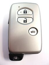 Replacement 3 button key case for Toyota Auris Prius Yaris Verso Avensis remote