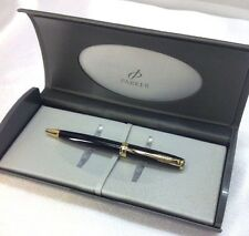 Parker Sonnet Mini Black Lacquer GT Gold Trim Ball Point New Old Stock #17391-46