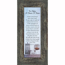 **NEW** to Make a House a Home. Inspirational Gifts for Home, 6x12 7342