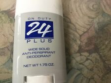 "Avon ""On Duty"" 24 Plus  Wide Solid Anti-Perspirant Deodorant  1.75 oz. NOS"
