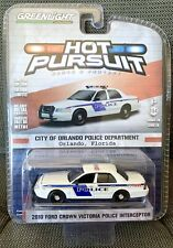 Greenlight 2010 Ford Crown Victoria Interceptor Orlando Police Hot Pursuit 28