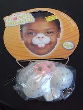 White Rabbit Animal Nose Mask Child Halloween Trick O Treat Costume